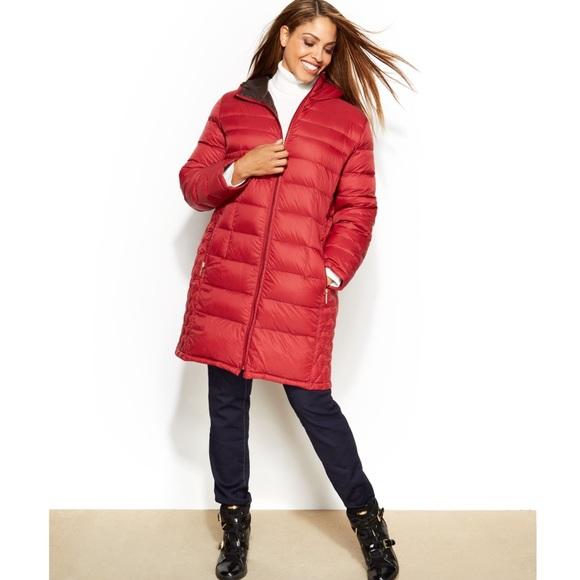 1844f9d2df0 Plus Size Michael Kors Packable Down Coat